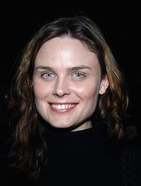 Emily Deschanel at the Stephen Tobolowsky's Birthday party and DVD release.