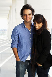 Wagner Moura and Maria Ribeiro at the 61st Berlin International Film Festival in Germany.
