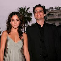 Alice Braga and Wagner Moura at the premiere of