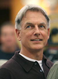 Mark Harmon at the