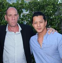 Miguel Ferrer and Will Yun Lee at the NBC All-Star Party during the 2007 Summer Television Critics Association Press Tour.