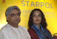 Shabana Azmi and Javed Akhtar at the conference as part of a United Nations Childrens Fund (UNICEF).
