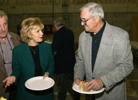 Candice Azzara and Hal Linden at the