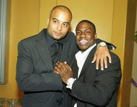 Director Jessy Terrero and Kevin Hart at the world premiere of