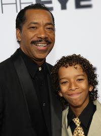 Obba Babatunde and his son at the premiere of