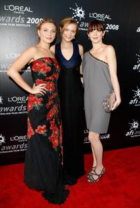 Leeanna Walsman, Maeve Dermody and Emma Lung at the L'Oreal Paris 2008 AFI Industry Awards.