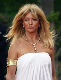 Goldie Hawn at the charity event playing for Good Foundation in Palma de Mallorca, Spain.