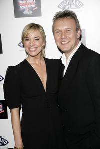 Anthony Head and Tamsin Outhwaite at the British Comedy Awards 2006.