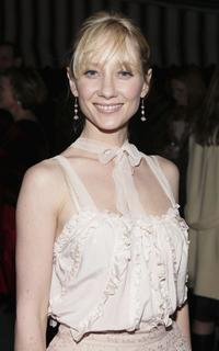 Anne Heche at the M.A.C Cosmetics