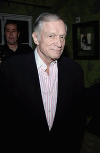 Hugh Hefner at the Launch Party For Vh1's