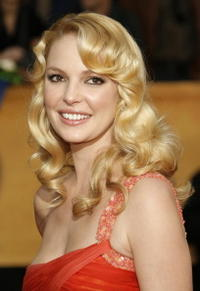 Katherine Heigl at the 13th annual Screen Actors Guild Awards in L.A.