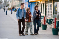 Kevin Bacon, Miles Heizer and Marcia Gay Harden in