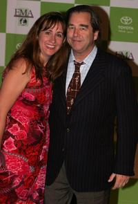 Beau Bridges and wife Wendy Bridges at the 14th Annual Environmental Media Awards.