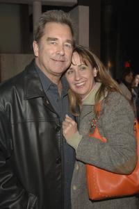 Beau Bridges and wife Wendy at the Premiere of