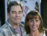 Beau Bridges and his wife Wendy Bridges at the Premiere of