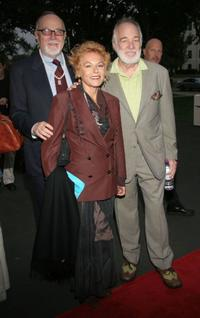 Producing director Gil Cates, Caroline Ducrocq and Howard Hesseman at the opening night of