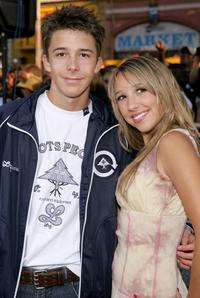 Bobby Edner and Ashley Edner at the Los Angeles Fan screening of
