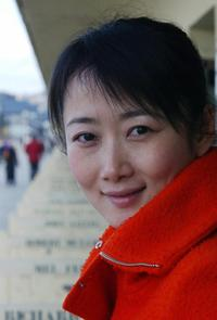 Zhao Tao at the presentation of