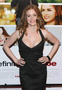 Actress Isla Fisher at the N.Y. premiere of