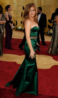 Isla Fisher at the 79th Annual Academy Awards.