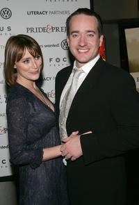 Keeley Hawes and Matthew MacFadyen at the premiere of