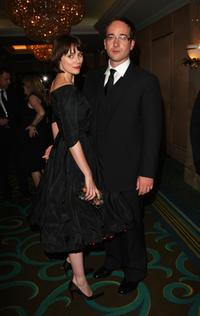 Keeley Hawes and Matthew MacFadyen at the after party of the premiere of