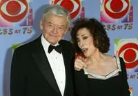 Hal Holbrook and Dixie Carter at the 'CBS at 75' celebration at the Hammerstein Ballroom in New York City.