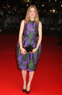 Romola Garai at the BFI 52 London Film Festival premiere of
