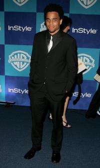 Michael Ealy at the Warner Bros / InStyle Golden Globe after party.