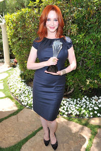 Christina Hendricks at the Critic's Choice Television Awards in California.
