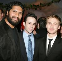 Sala Baker, Michael Kovac and Dean O'Gorman at the cocktail reception during the 5th Annual Celebration of New Zealand Filmmaking and Creative Talent.
