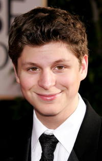 Michael Cera at the 62nd Annual Golden Globe Awards in Beverly Hills.
