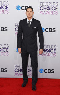 J.D. Pardo at the 39th Annual People's Choice Awards in California.
