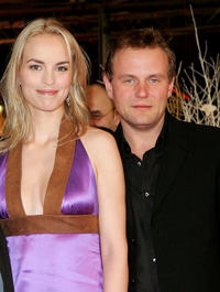 Nina Hoss and Devid Striesow at the Germany premier of