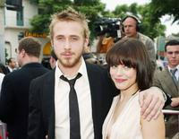Ryan Gosling and Rachel McAdams at the premiere of