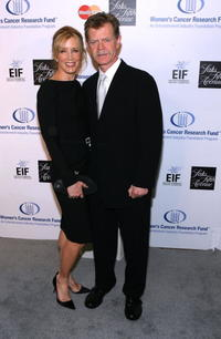 Felicity Huffman and husband William H. Macy at the Saks Fifth Avenue's
