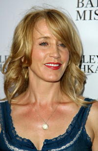 Felicity Huffman at the celebration for the new Badgley Mischka marketing campaign.