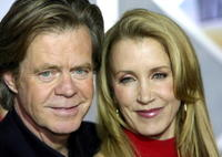 Felicity Huffman and Husband William H. Macy at the red carpet for the premiere of
