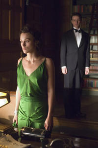 Keira Knightley and James McAvoy in
