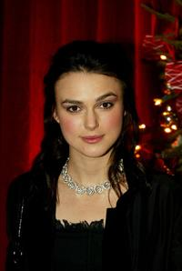 Keira Knightley at the London afterparty premiere of