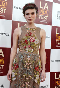 Keira Knightley at the California premiere of