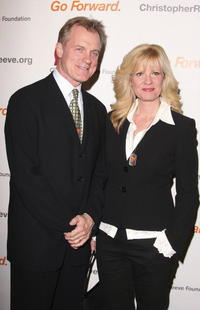 Bonnie Hunt and Stephen Collins at the Second Annual Christopher Reeve Foundation Celebration.