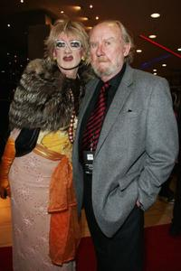 Bill Hunter and Guest at the 2008 Helpmann Awards.