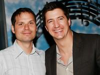 Michael Ian Black and Ken Marino at the after party of the premiere of