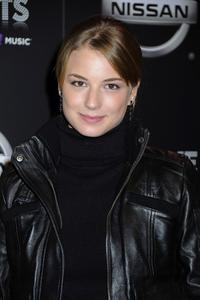 Emily VanCamp at the one year anniversary celebration of