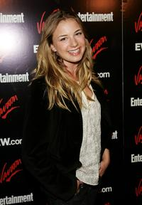 Emily VanCamp at the Entertainment Weekly and Vavoom's Network Upfront party.