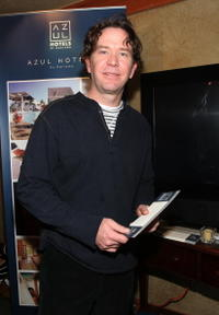 Timothy Hutton at the at the Gibson Guitar and Entertainment Tonight celebrity hospitality lodge during 2007 Sundance Film Festival.