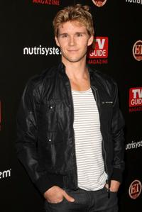Ryan Kwanten at the TV Guide's sexiest stars party.