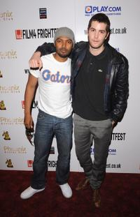 Noel Clarke and Jim Sturgess at the world premiere of