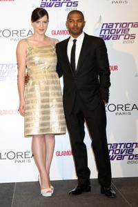 Michelle Ryan and Noel Clarke at the National Movie Awards 2010.